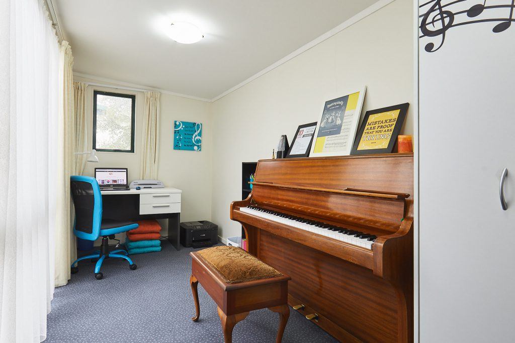 Blenheim Piano Teacher - Piano Room