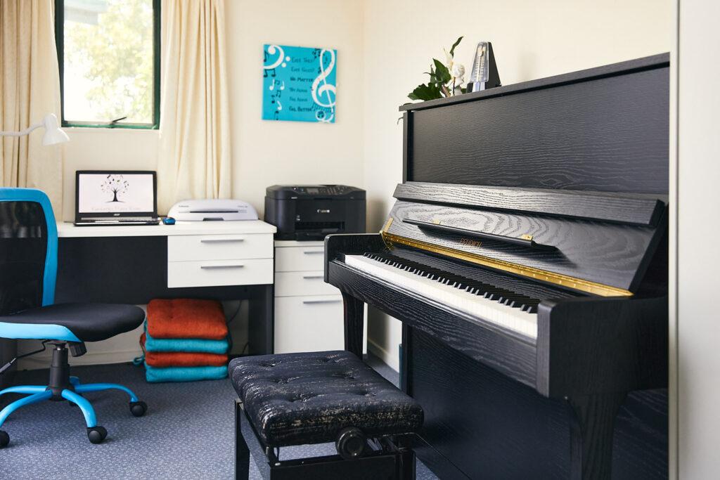 Blenheim Piano Teacher - Piano Room